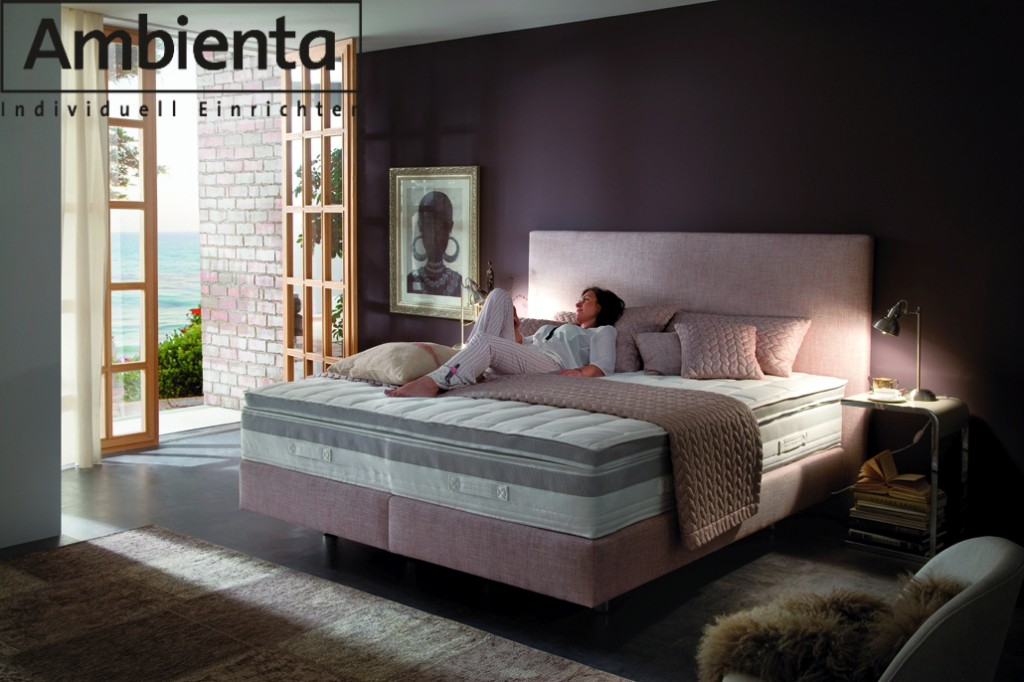 ambienta chiasso boxspringbett motor g nstig. Black Bedroom Furniture Sets. Home Design Ideas