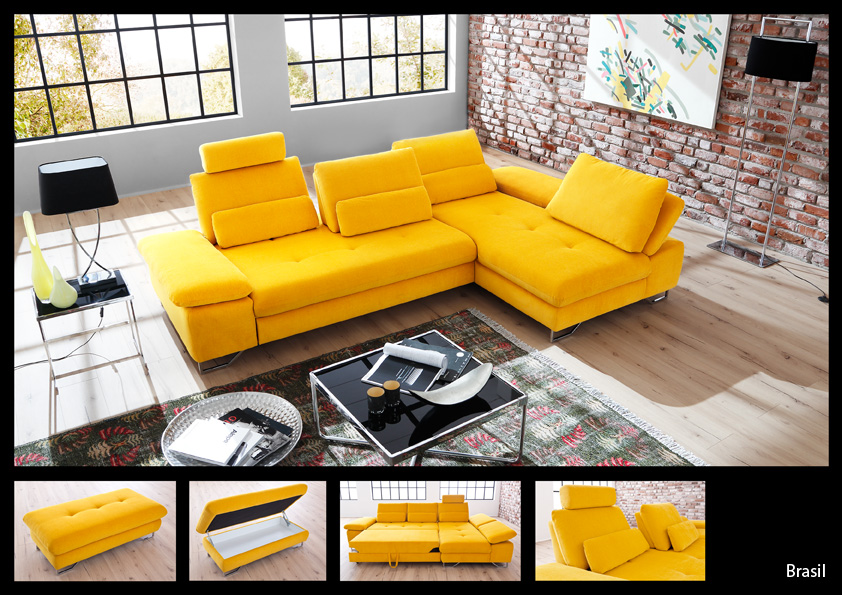 ecksofa yellow m bel inspirierendes design f r wohnm bel. Black Bedroom Furniture Sets. Home Design Ideas