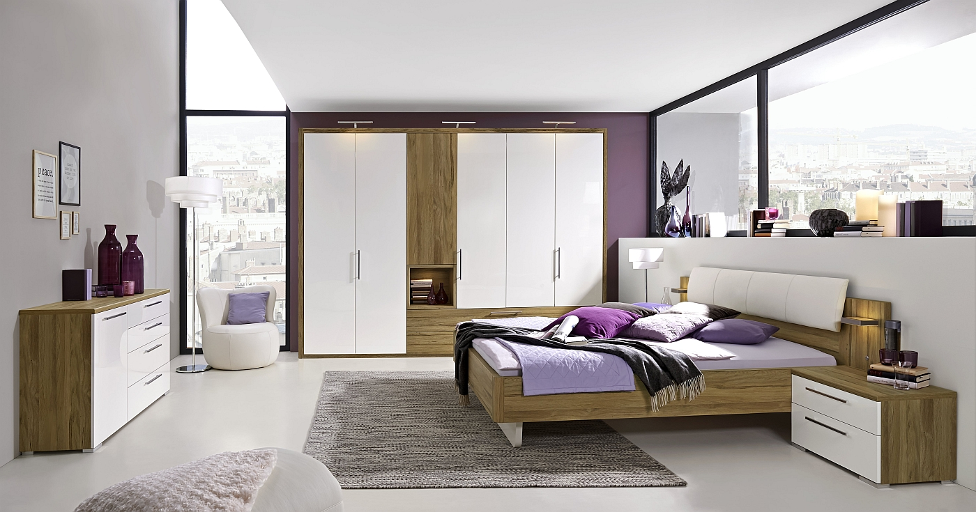 loddenkemper schlafzimmer luna betten g nstig. Black Bedroom Furniture Sets. Home Design Ideas