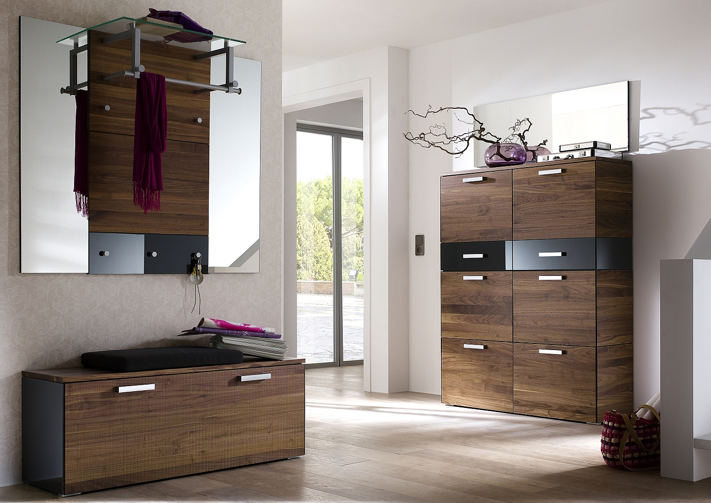 wittenbreder garderobe schuhschrank muchele massello. Black Bedroom Furniture Sets. Home Design Ideas