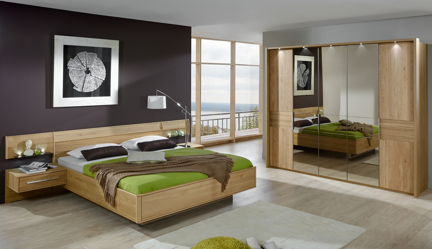 schlafzimmer m bel kraft. Black Bedroom Furniture Sets. Home Design Ideas