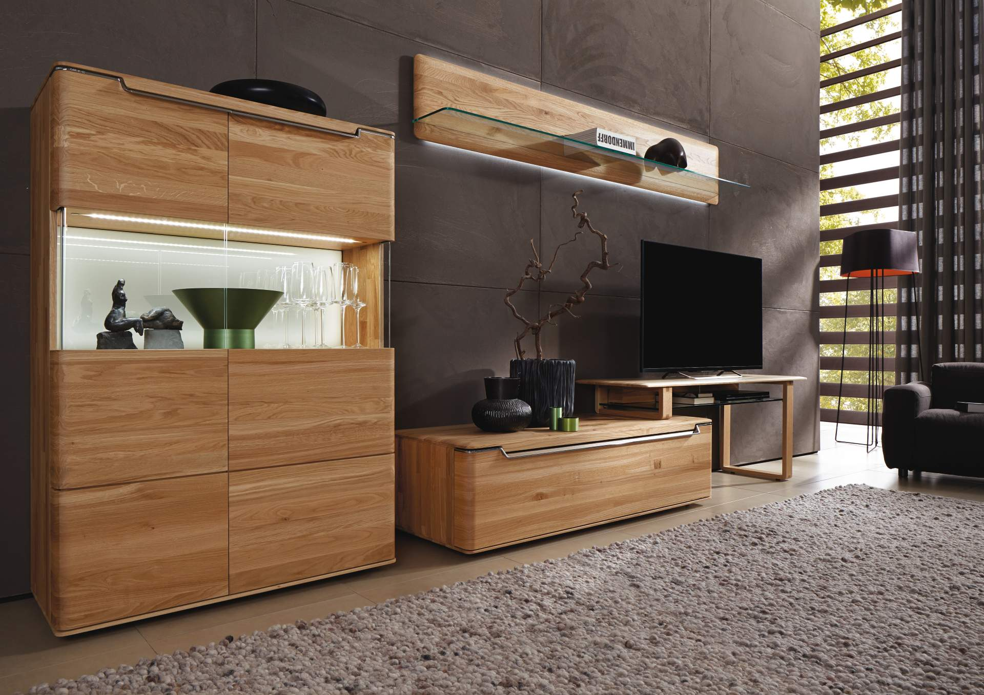 h lsta wohnen mayer m bel. Black Bedroom Furniture Sets. Home Design Ideas