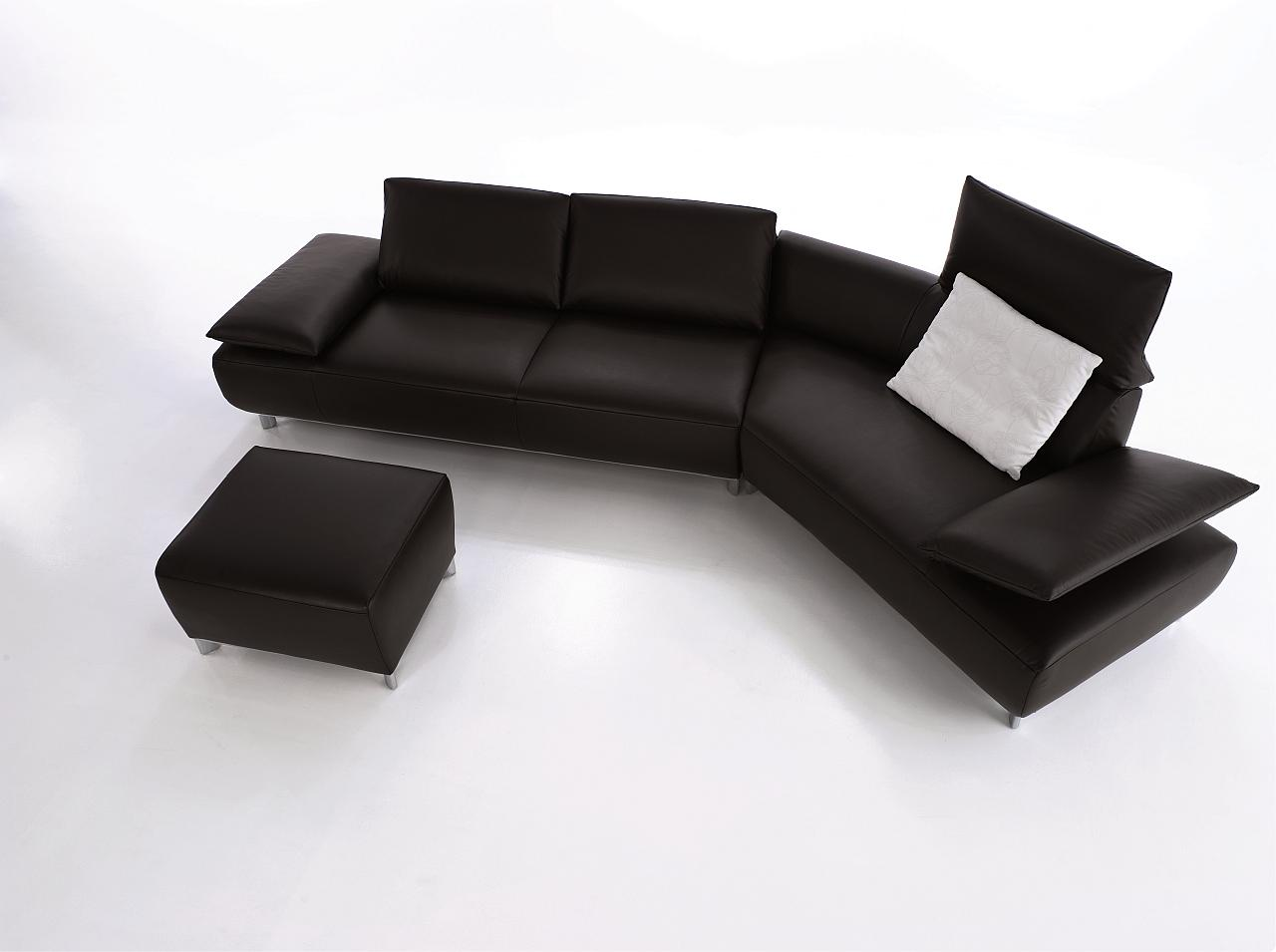 koinor sofa leder schwarz. Black Bedroom Furniture Sets. Home Design Ideas