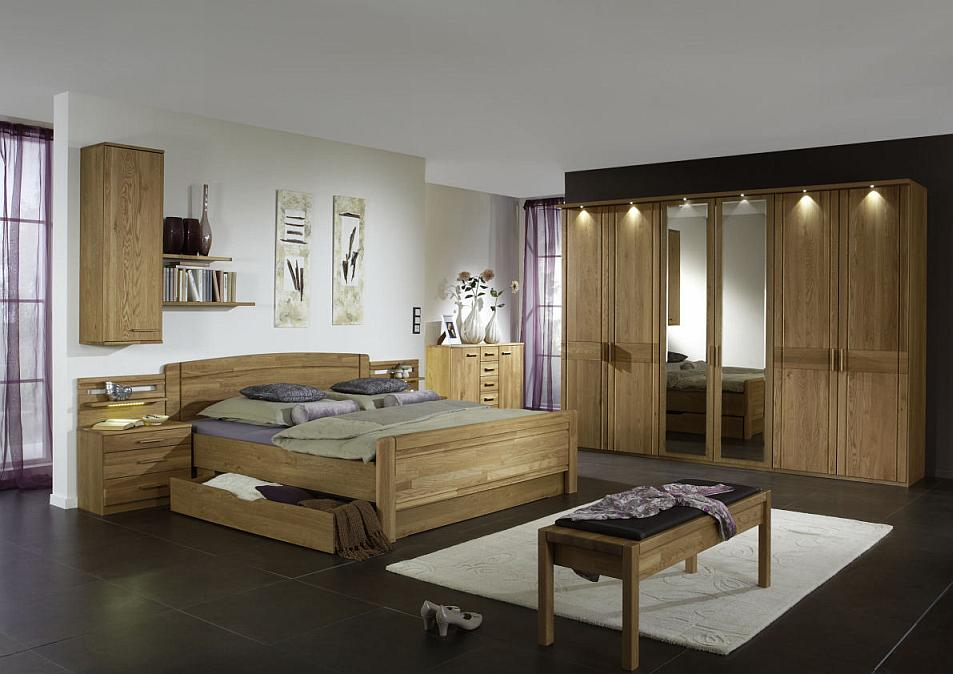 wiemann bett m nster eiche mit schubladen massiva m belde startseite design bilder. Black Bedroom Furniture Sets. Home Design Ideas