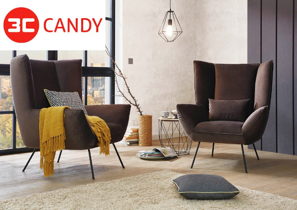 Candy Sessel neu