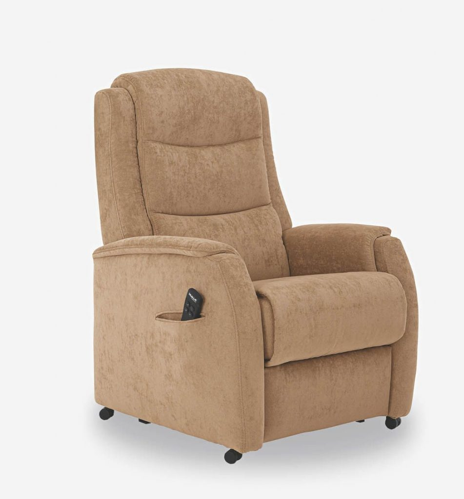 Hukla Palermo Relaxsessel Stoff camel