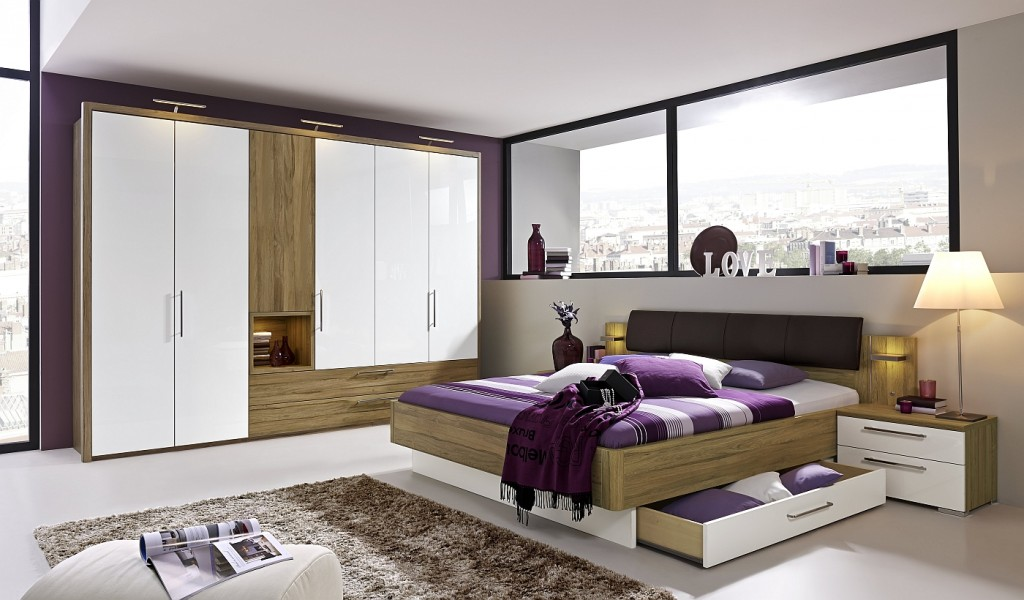 Loddenkemper- bedrooms_zamaro_oak volano finish-high gloss alpina white-11-AM
