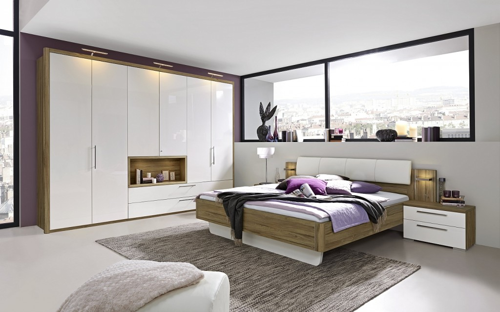 Loddenkemper- bedrooms_zamaro_oak volano finish-high gloss alpina white-13-AM