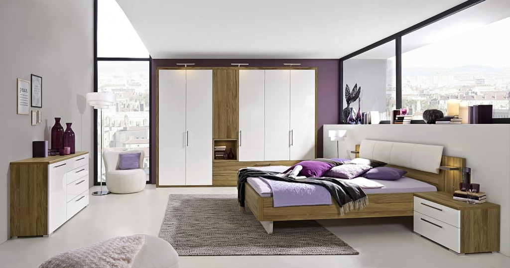 Loddenkemper- bedrooms_zamaro_oak volano finish-high gloss alpina white-14-AM