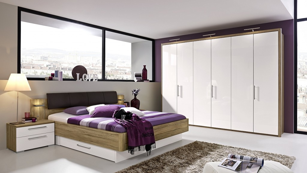 Loddenkemper- bedrooms_zamaro_oak volano finish-high gloss alpina white-17-AM