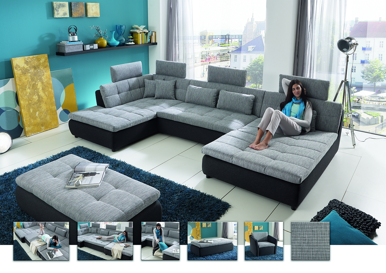 megapol 2018 sofa polster g nstig kaufen. Black Bedroom Furniture Sets. Home Design Ideas