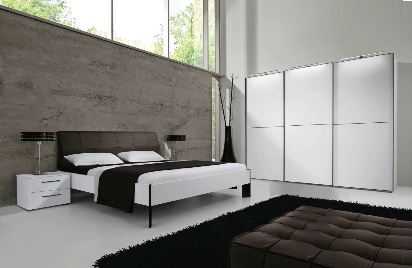 nolte schlafzimmer 2018 horizont kleiderschrank. Black Bedroom Furniture Sets. Home Design Ideas