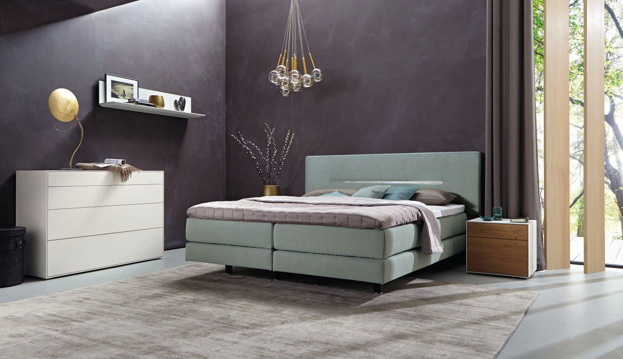 Boxspringbett design luxus  hülsta Boxspringbett 2018 | Möbel Mayer